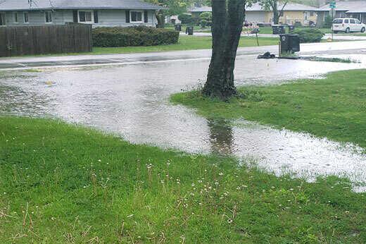 Bad Yard Drainage