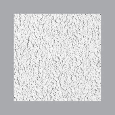 Cheyenne 2 Ft. x 2 Ft. White Cast Mineral Fiber Ceiling Tile (8-Count)