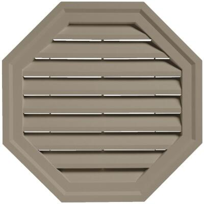 "Ply Gem 18"" Octagon Clay Gable Attic Vent"