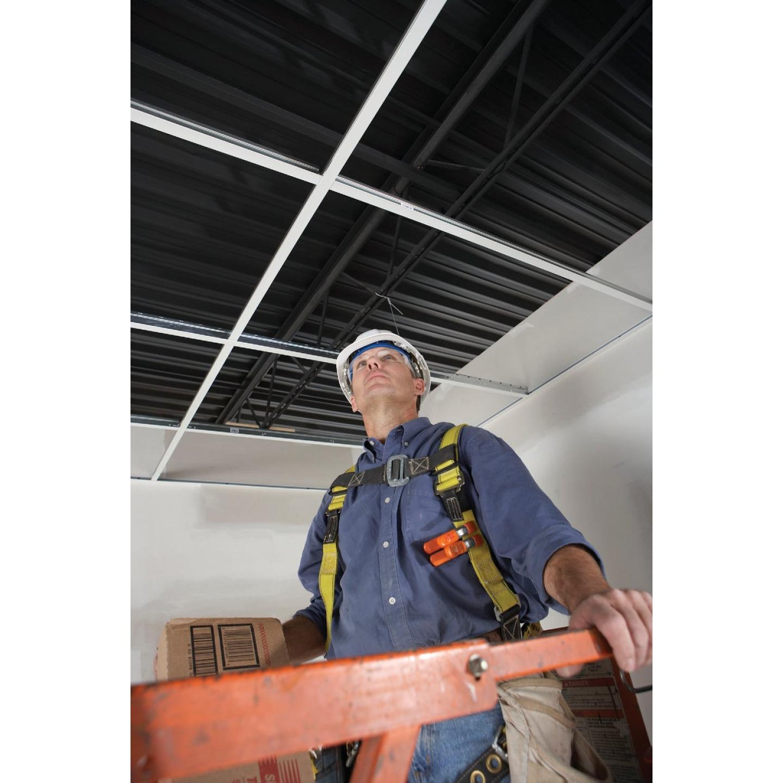 Donn 4 Ft. x 1-1/2 In. White Steel Fire Resistant Ceiling Tile Cross Tee Image 2