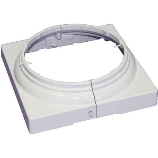 Crown Column 8 In. White Aluminum Split Cap/Base