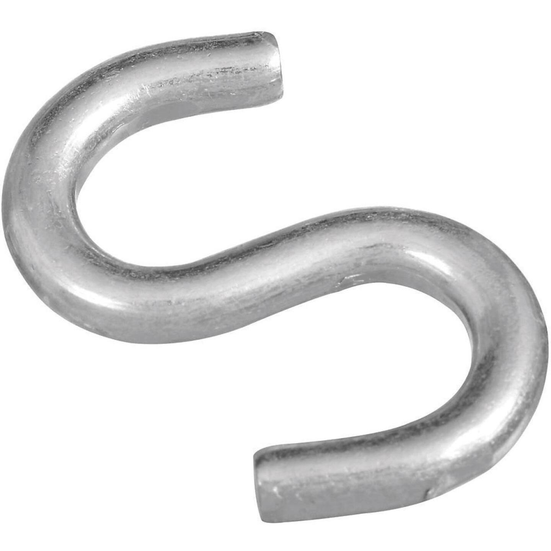 National 2 In. Zinc Heavy Open S Hook (2 Ct.) Image 1