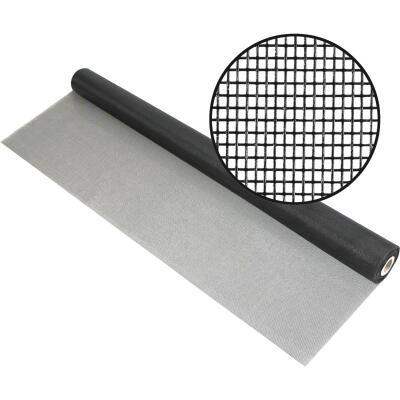 Phifer 36 In. x 100 Ft. Charcoal Fiberglass Mesh Screen Cloth
