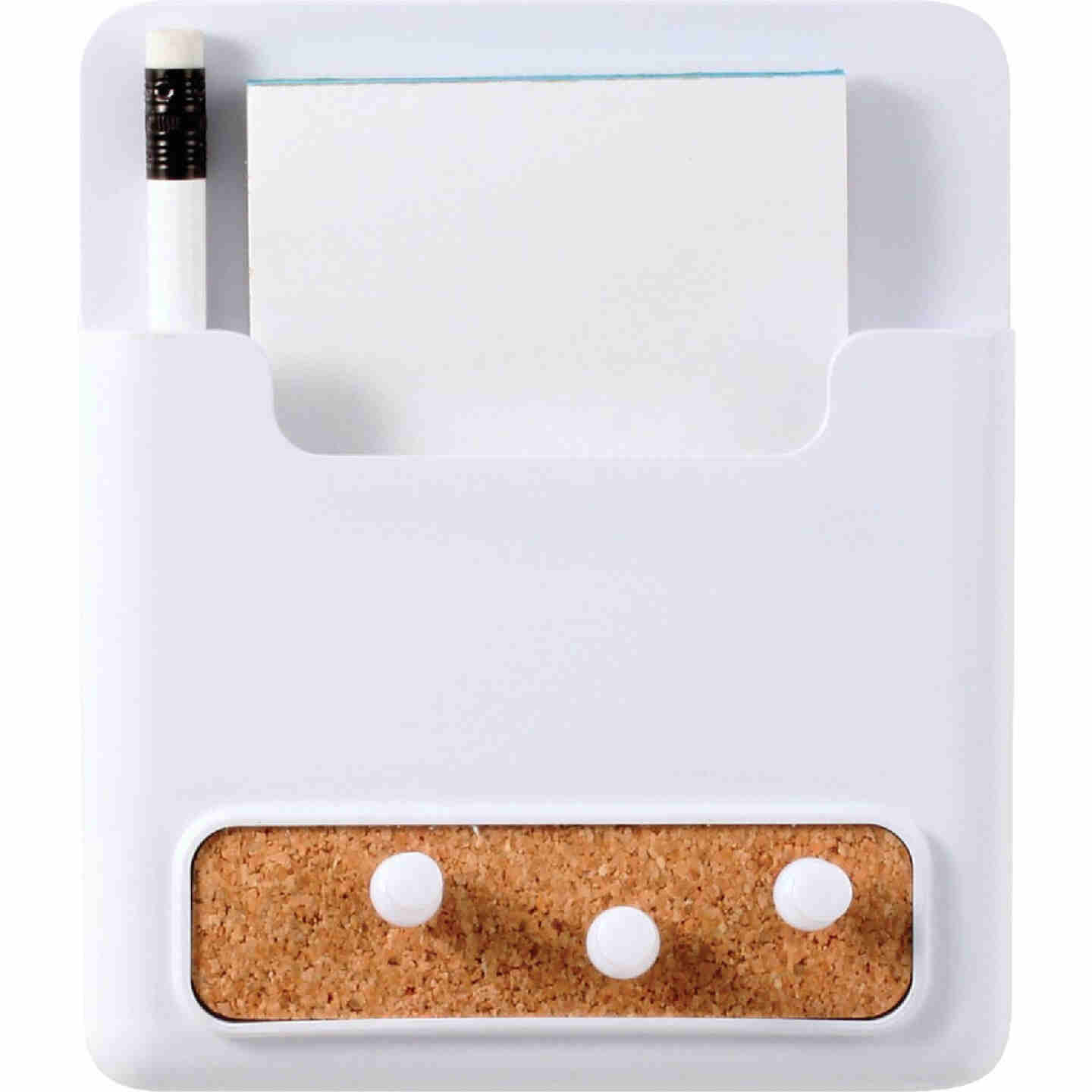 Spectrum 4-3/4 In. x 5-1/2 In. H. x 1 In. D. Magnetic Message Board Image 1