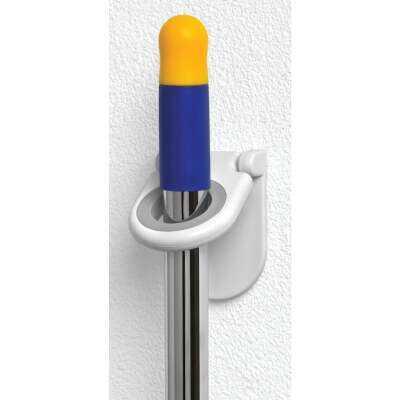 Spectrum Rubber Grip Mop and Broom Storage Hook