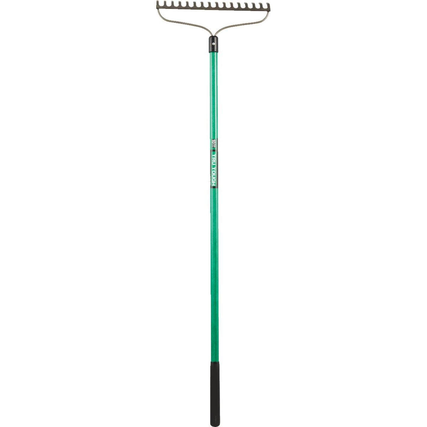 Tru Tough 15.5 In. Steel Bow Garden Rake (16-Tine) Image 3